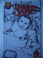 Painkiller Jane #0 Sneak Peak Sketch Variant